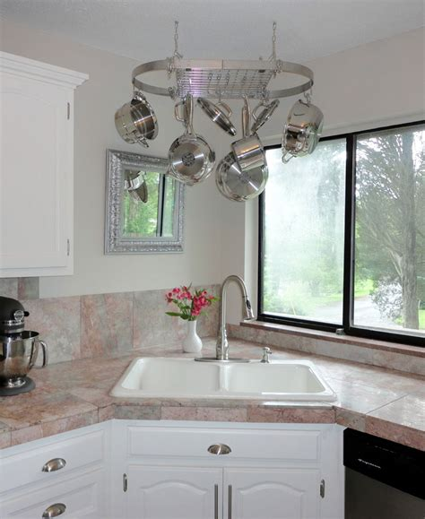 corner kitchen sink designs corner kitchen sink design ideas