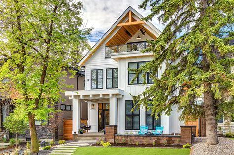 farmhouse style house calgary home radiates with fresh modern farmhouse style