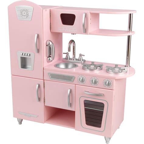 kid craft vintage kitchen lightning deal kidkraft vintage kitchen in pink at 3pm