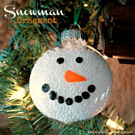 ornament crafts for clear ornament ideas uncommon designs