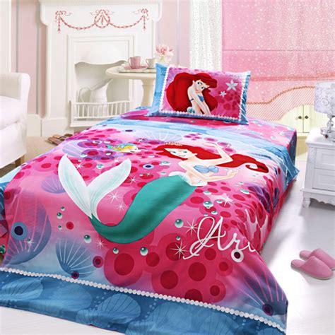 mermaid size comforter set ariel princess bedding set size ebeddingsets