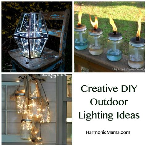 diy outdoor lighting ideas friday finds creative diy outdoor lighting ideas