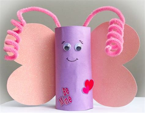 butterfly toilet paper roll craft crafts actvities and worksheets for preschool toddler and
