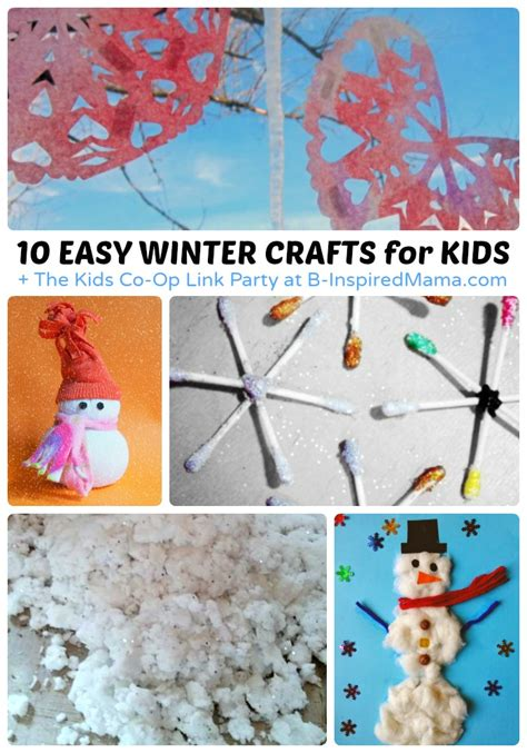 winter crafts for to make easy easy winter crafts for the co op link