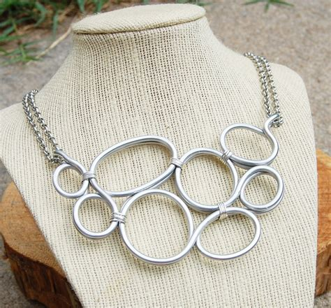 aluminum wire jewelry pin by thrift on aluminum jewelry ideas