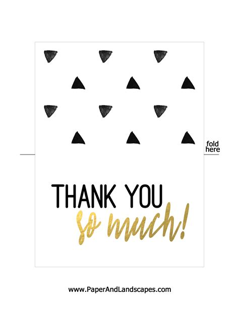 make thank you cards with photos free free printable thank you cards paper and landscapes