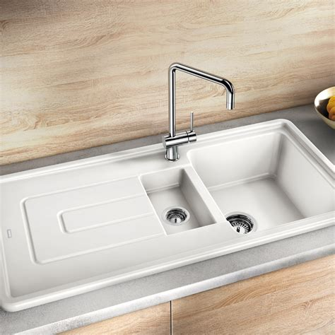 inset ceramic kitchen sinks inset ceramic kitchen sinks clearwater sonnet bowl and