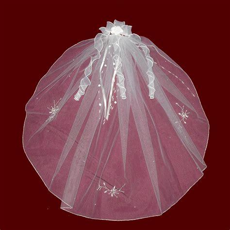 beaded veil rhinestone silver beaded veil with optional tiara or