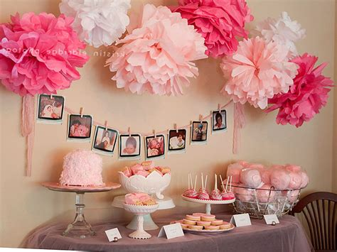 decoration ideas for baby shower baby shower decorations for girls 05