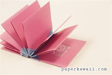 origami bok origami blizzard book tutorial paper kawaii