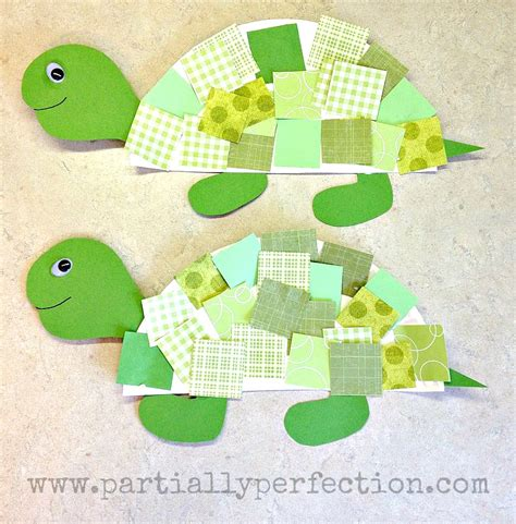 turtle paper craft paper plate turtles family crafts
