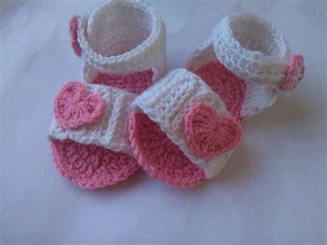 knitted baby sandals free pattern baby sandal crochet pattern favecrafts