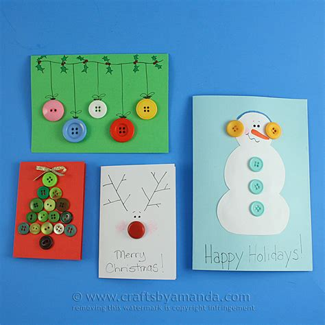cards with toddlers button cards for crafts by amanda