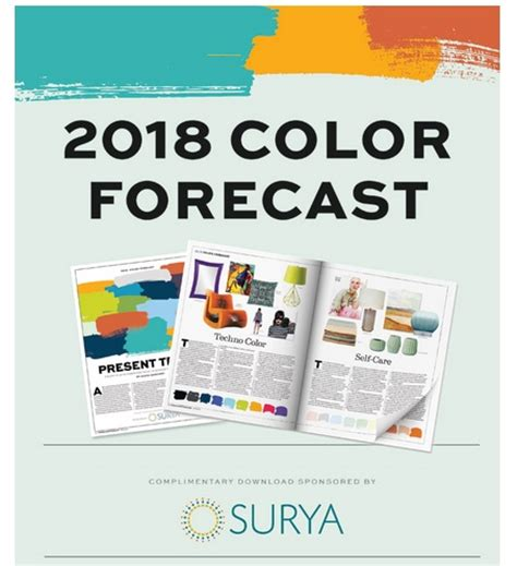 2018 color forecast now available home accents today