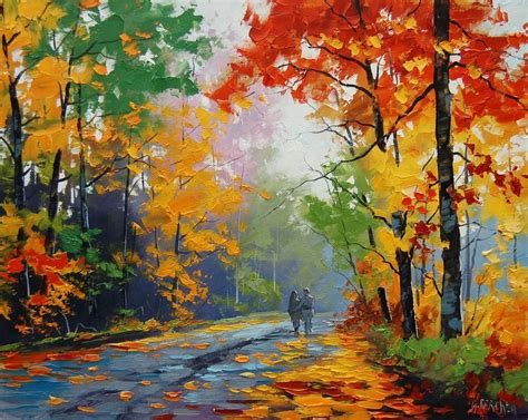 acrylic painting nature paintings of nature landscape paintings the name says