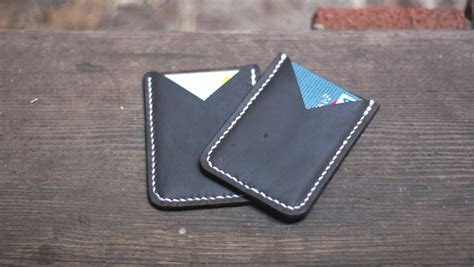 how to make a leather card holder a leather card holder free pdf template makesupply