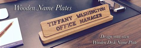 office desk name plates name plates to make any office unique desk door or wall