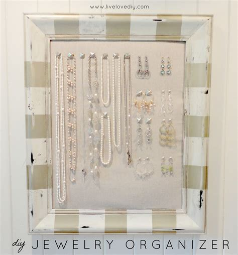 how to make your own jewelry organizer ideas of diy jewelry box that is easy to make