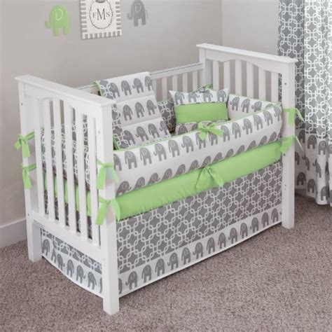 green baby crib best lime green baby bedding and crib sets for 2015