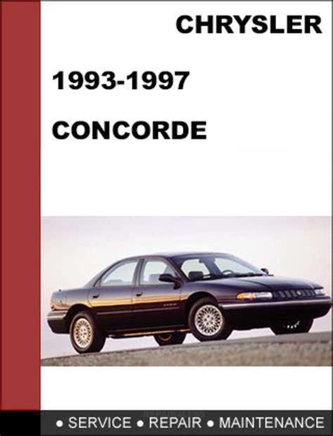 automotive repair manual 1997 chrysler concorde electronic valve timing chrysler concorde 1993 1997 factory service workshop repair manual