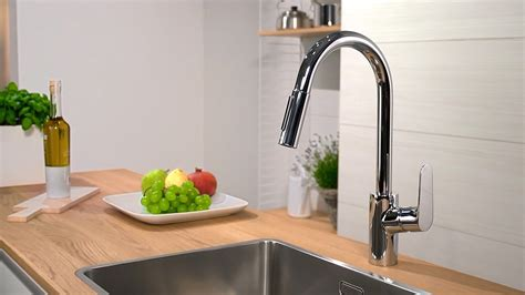 Kitchen Pullout Faucet hansgrohe focus single lever kitchen mixer 240 31815000