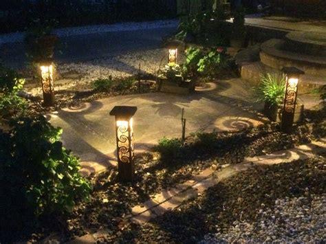 lighting in landscape custom metal sculptural landscape lighting sestak