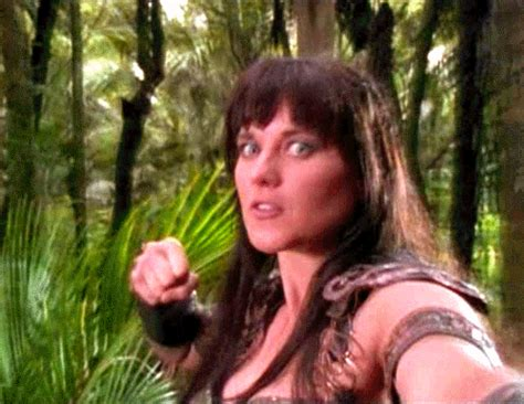 xena groundhog day punching gifs find on giphy