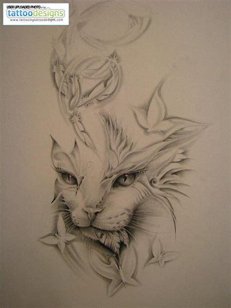 cat designs tattoos cat designs