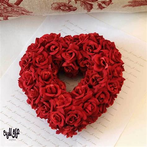 rosary made from roses صور قلوب وورود مناظر من القلوب الرومانسية لقطات
