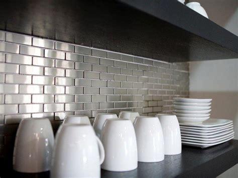 stainless tiles for backsplash tips on decorating your kitchen using brick backsplash
