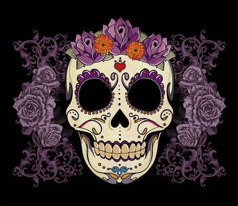 sugar skull future inspirations on watercolor