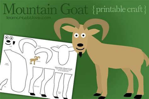 goat craft for 17 best images about new year crafts for children
