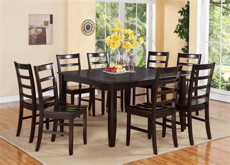 8 seat dining room table sets 9 pc square dinette dining room table set and 8 wood seat