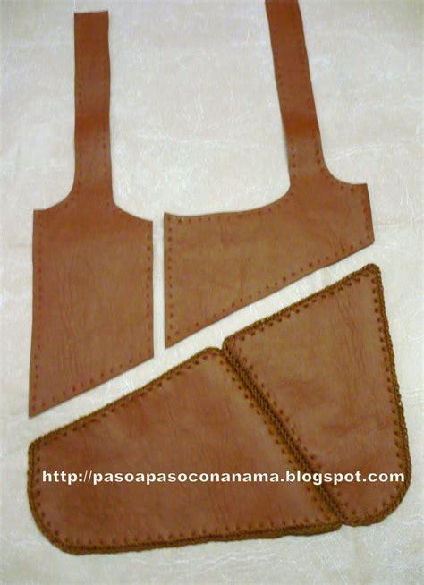 como hacer carteras de cuero todo paso a paso cartera de cuero ecologico bolsitas de