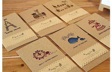 creative greeting card creative krafts greeting cards 12pcs lot wedding invite