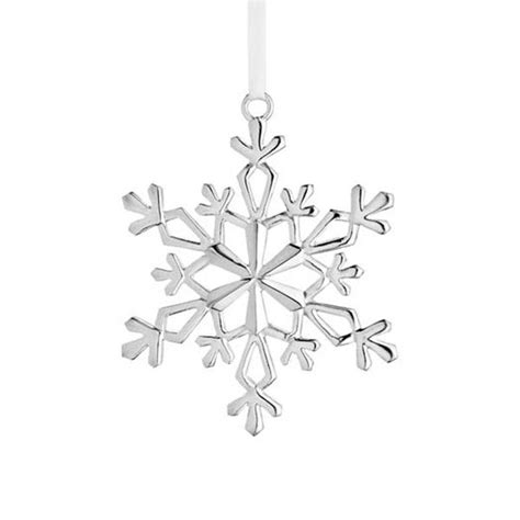 sterling silver ornament 2015 lunt silver snowflake ornament silver superstore