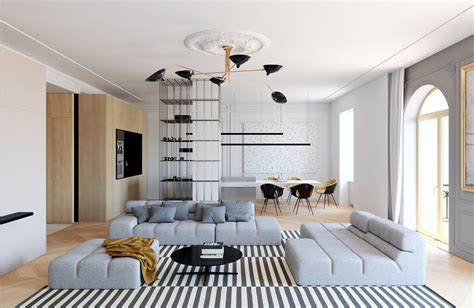 modern interior home designs modern decor meets classical features in two transitional home designs