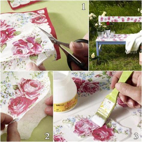 diy decoupage projects decoupage furniture diy tutorial