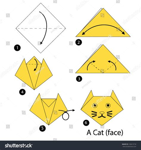 how to make an easy origami cat easy origami cat comot