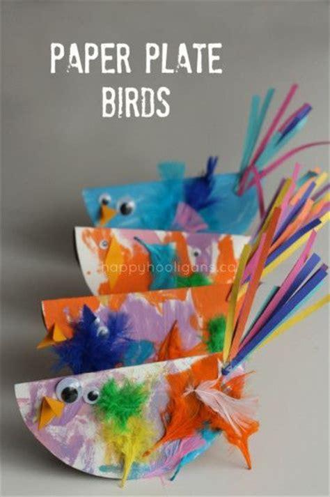 bird paper plate craft bird crafts paper plates and happy hooligans on