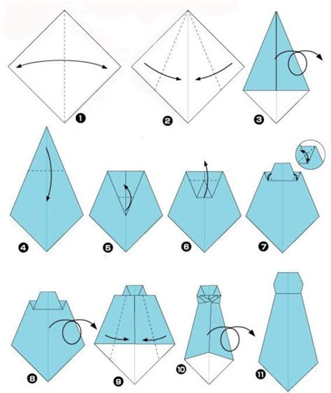 tie origami shirt origami the best s day present diy is