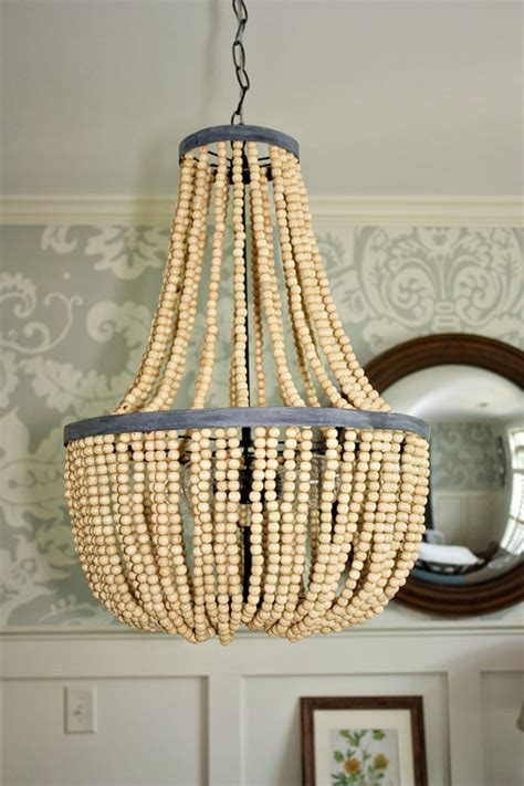 how to make a bead chandelier 7 amazing diy chandeliers nest of bliss