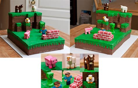 minecraft arts and crafts projects minecraft cake by puyoda on deviantart