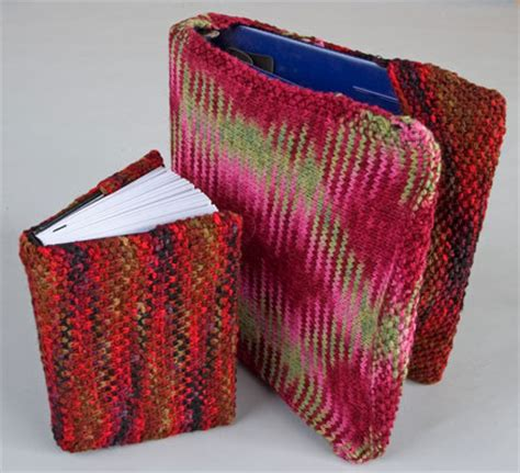 knit cover back to school covers for books binders notebooks