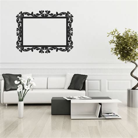 frame wall sticker wallstickers folies frame wall stickers
