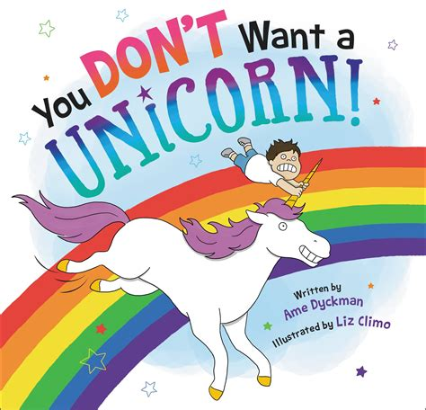 unicorn picture books you don t want a unicorn brown books for