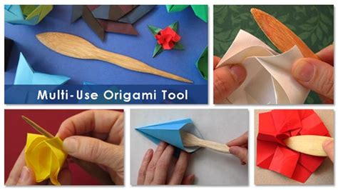 origami tools make an origami rabbit as an easter egg holder