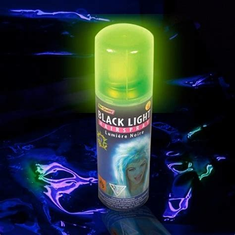 glow in the paint dying light blacklight hairspray neon hair spray hair paint