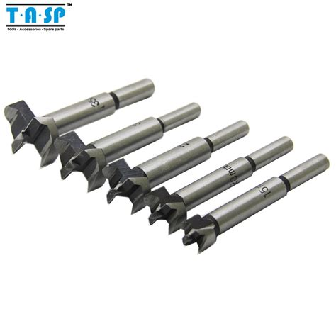 drill bits for woodworking free shipping 5pc forstner auger drill bits set