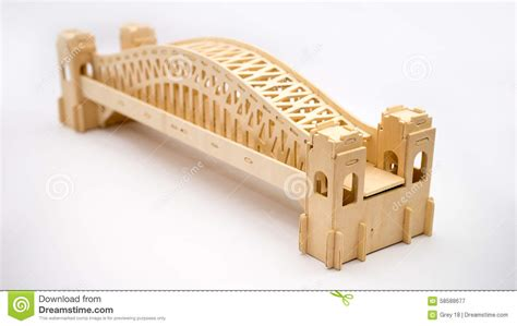 woodworking sydney sydney harbour bridge woodcraft model stock photo image